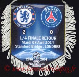 Fanion  Chelsea-PSG  2013-14