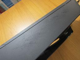BMW318CIクーペ の センターコンソールボックス の 傷・塗装剥げ(めくれ)・塗装べたつき(ベタベタ)のリペア(修理・修復・再生)前の写真⑨、取り外し状態