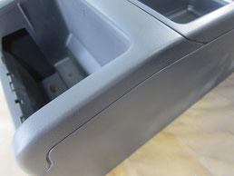 BMW318CIクーペ の センターコンソールボックス の 傷・塗装剥げ(めくれ)・塗装べたつき(ベタベタ)のリペア(修理・修復・再生)後の写真④、取り外し状態