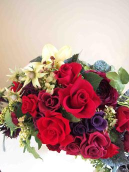 プリザーブドフラワー,赤バラ,高級,豪華,大きいサイズ