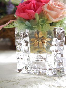 プリザーブドフラワー,ガラス花器,アレンジメント,花,ギフト