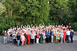 Gruppe der Ehrenamtlichen aus dem Bezirk Oberpullendorf und Gäste