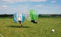 Bubble Football mieten Soccerhalle Frankfurt Darmstadt