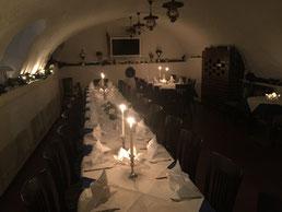 Für Ihre speziellen Feiern oder zu anderen Anlässen haben wir einen Raum mit besonderem Flair
