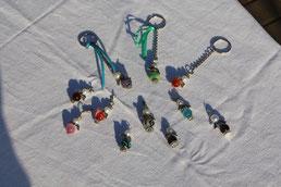 Schutzengel 3.- Euro Schlüsselanhänger 5.- Euro.  Fertige sie farblich auf Wunsch