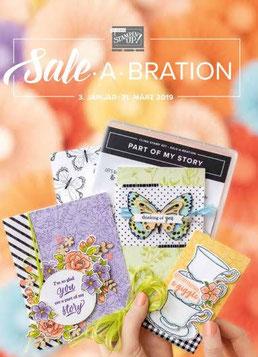 Stampin up Sale A Bration 2019