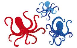 Kraken | Oktopusse | Oktopoden | paperfjord | Johann Lewy