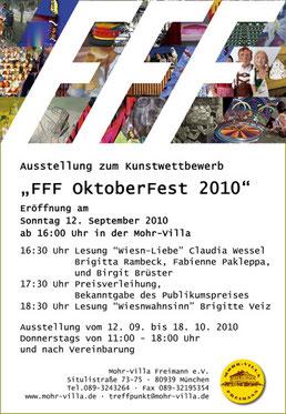 FFF Kunst-Biennale OktoberfFest 2010