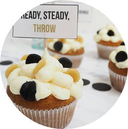 Bild: Cupcake Rezeptidee von Mohntage auf Partystories.de zur Blogparade #Geburtstagsparty