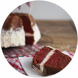 Bild: Rezept für Red Velvet Kuchen von HolzundHefe auf Partystories.de zur Blogparade #Geburtstagsparty