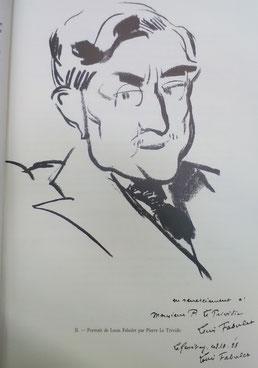 Portrait de Louis Fabulet, Pierre le Trividic