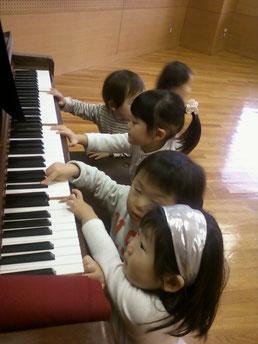 みんなピアノ大好きね