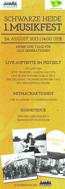 Now or Never Band Benefiz Konzert 2013