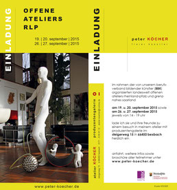 flyer, printdesign, peter köcher