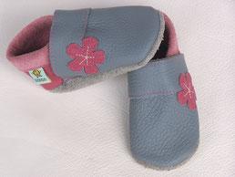 Blume Lederschuhe Mädchenschuhe