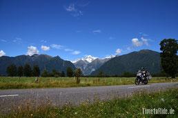 Neuseeland - Motorrad - Reise - Westküste - Fox Gletscher