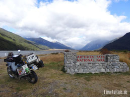 Neuseeland - Motorrad - Reise - Arthurs Pass