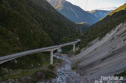 Neuseeland - Motorrad - Reise - Westküste - Arthurs Pass