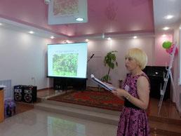 О своих увлечениях рассказывает Е.М. Бердышева - п. Восточный - 3 место