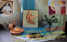 Felicitaciones a nuestras hermanas que están celebrando su jubileo de Profesión Religiosa.