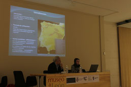 Conference about Duero valley (Leòn 2012)