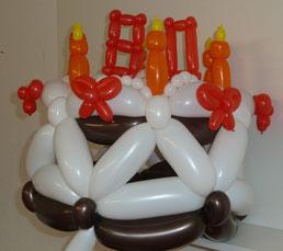 Mr.balloni ch,GeburtstagstorteGeburtstagstorte, Ballontorte, Geschenk, Geburtstag