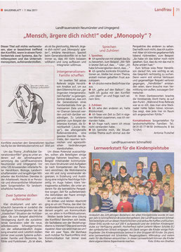 Bauernblatt, 7.Mai 2011