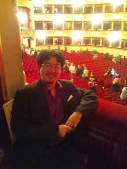 イタリア3大歌劇場 ミラノ・スカラ座にて