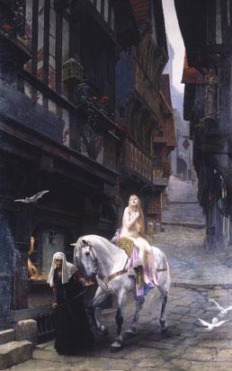 Lefebvre Jules, Lady Godiva, 1890 / Amiens, Musée de Picardie