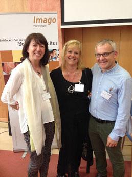 v.l.n.r.: Sonja Rotter, Tammy Nelson (USA), Martin Rotter
