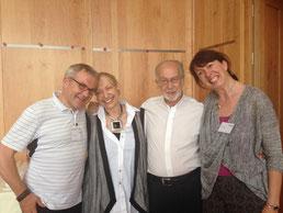 v.l.n.r.: Martin Rotter, Hedy und Yumi Schleifer (USA), Sonja Rotter
