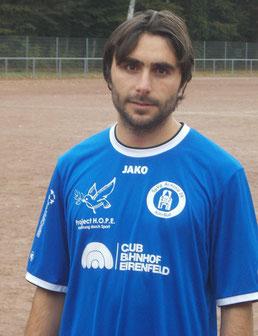Dreifacher Torschütze: Ahmad Nasro