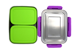 Ecotanka Lunchbox mit 2 Pocketboxen
