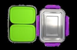 Ecotanka Lunchbox mit 2 Pocketboxen