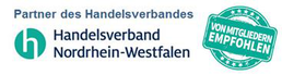 Logo-Handelsverband NRW empfohlener Partner