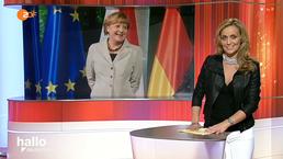 Kanzlerin Merkel ZDF
