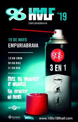 Half Triathlon am 19.5.2019 in Empuriabrava