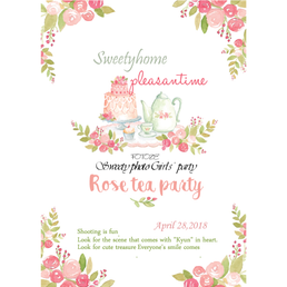 FOTOZE~Sweetyなフォト女子会 4月29日   【Rose tea party】