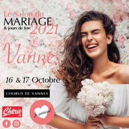 Salon du Mariage & jours de fête à Vannes 16 et 17 Octobre 2021