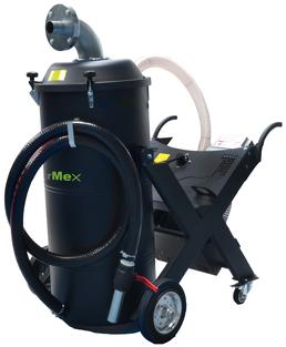 AirMex OS-300 Öl- und Spänesauger Industriesauger für Öl und Späne Kühlmittel CNC