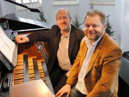 Dieter Lorenz und Ludger Morck