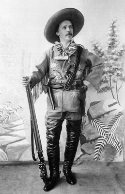 Karl May als Old Shatterhand (1896) (Foto: Karl-May-Gesellschaft)