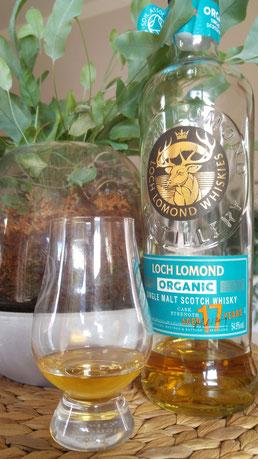 Loch Lomond 17 Jahre Organic Flasche