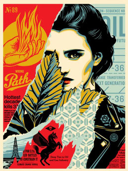 Shepard Fairey, Prophets of Rage -  New Day Rising, 2017
