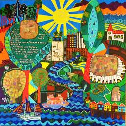 Hommage an Friedensreich Hundertwasser