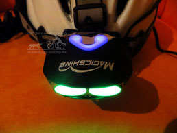 Lampe mit Standby-Licht und Akkuzustandsanzeige