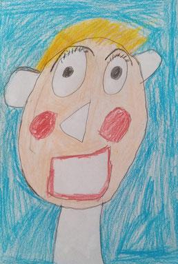gezeichnet von Lara