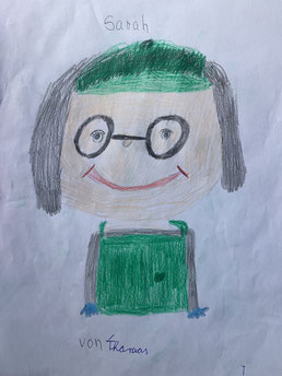 gezeichnet von Esther