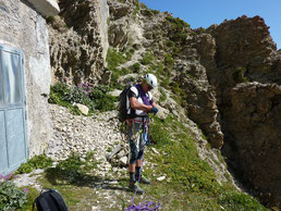 Didier Nicard - Guide de haute montagne - Escalade haute montagne - Tête de MoÏse - Via ferrata - Bivouac Enrico Mario