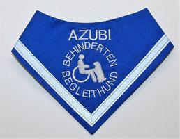 Behinderten Begleithund Halstuch Hundehalstuch